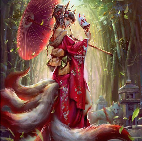 Những điều chưa biết về Cửu Vĩ Hồ, loài cáo 9 đuôi trong thần thoại Á Đông - Ảnh 1.