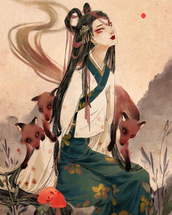 Những điều chưa biết về Cửu Vĩ Hồ, loài cáo 9 đuôi trong thần thoại Á Đông - Ảnh 2.