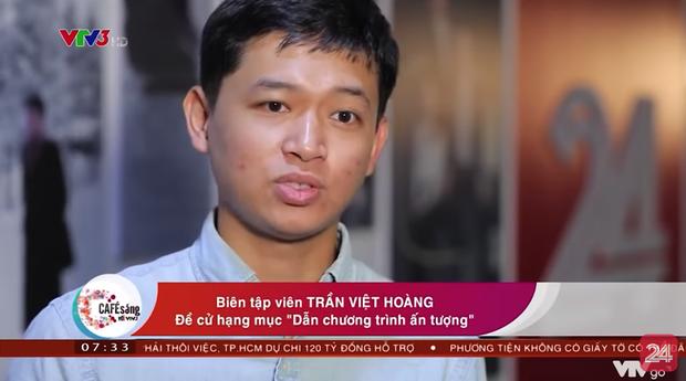 Việt Hoàng - anh da nâu hay cà khịa của VTV được đề cử hạng mục Dẫn chương trình ấn tượng - Ảnh 1.