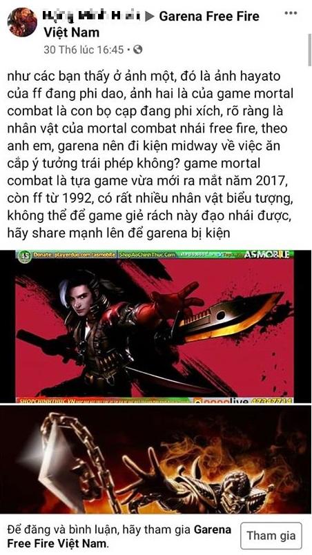 """Người chơi Free Fire tiếp tục """"mang đơn đi tố cáo"""" một huyền thoại làng game đạo nhái mình - Ảnh 3."""