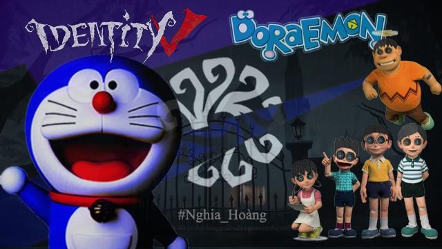 Ám ảnh với dàn nhân vật Doraemon bỗng xuất hiện trong Identity V cùng diện mạo cực kỳ creepy - Ảnh 1.