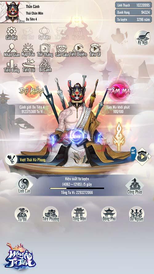Mộng Ảo Tu Tiên - Game mobile đỉnh nhất dành cho fan cuồng tu tiên chính thức ra mắt, tặng ngay 2000 Giftcode khủng - Ảnh 3.