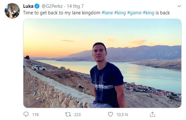 """""""Danh hài"""" Perkz chính thức quay lại đấu trường cùng G2, fan hâm mộ phấn khích Rạp xiếc lại đủ anh tài rồi - Ảnh 1."""