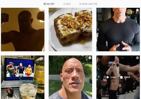 Chán đóng phim, The Rock Dwayne Johnson trở thành hot Instagram, đăng nhẹ một bài quảng cáo cũng kiếm hơn 20 tỷ - Ảnh 4.