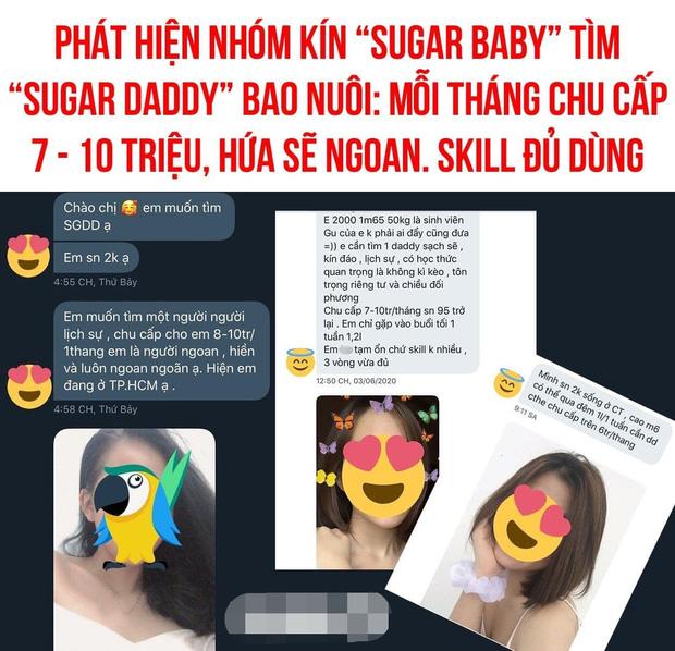 Cô gái hoang mang vì bị đánh cắp hình ảnh, đồn là gái xinh 2k tìm người bao nuôi chu cấp 7 triệu/tháng - Ảnh 1.
