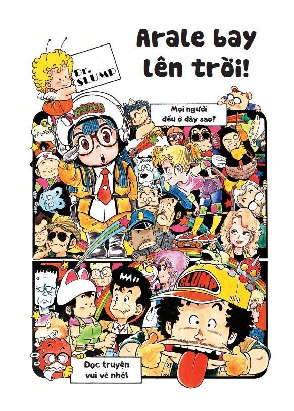 Dr. Slump Ultimate Edition: Manga kinh điển 1 thời của tác giả Dragon Ball ra mắt phiên bản đặc biệt cực đẹp! - Ảnh 2.