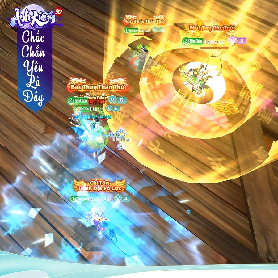 Sinh tồn hỗn chiến, lột đồ PK: Ảnh Kiếm 3D tái hiện vòng tử chiến công bằng nhất trong game nhập vai, ngang đồ - ngang cấp - ngang lực chiến! - Ảnh 1.