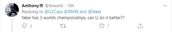 Cà khịa Faker, Caps bị fan chủ tịch phản pháo cực mạnh - Vô địch thế giới 3 lần rồi nói chuyện - Ảnh 3.