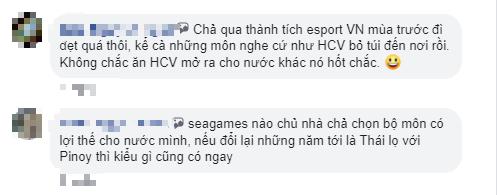 Phản ứng trái chiều của game thủ nước nhà khi SEA Games 31 tại Việt Nam vắng bóng Esports - Ảnh 7.