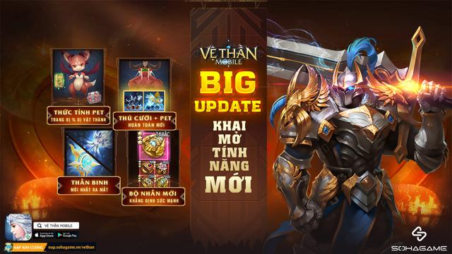 Tải game 2 giây nhận ngay Free Vip: Vệ Thần Mobile phiên bản Big Update chính thức ra mắt, tặng 300 Giftcode và cực nhiều ưu đãi ingame - Ảnh 4.