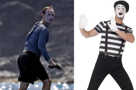 Bôi kem chống nắng trắng bệch cả mặt, Mark Zuckerberg bị chế ảnh khắp mạng xã hội, chẳng khác gì Joker, Vô Diện! - Ảnh 4.