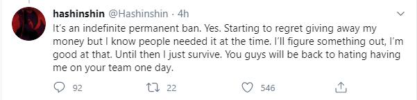 Super Top Hashinshin bị cấm vĩnh viễn khỏi Twitch vì cáo buộc quấy rối nữ game thủ 15 tuổi - Ảnh 2.