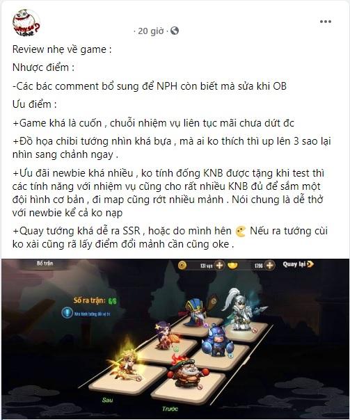 3Q Bá Vương chính là tân binh sáng giá sẽ đưa chiến thuật turn-based trở lại cuộc đua, đánh phá làng game Việt! - Ảnh 13.