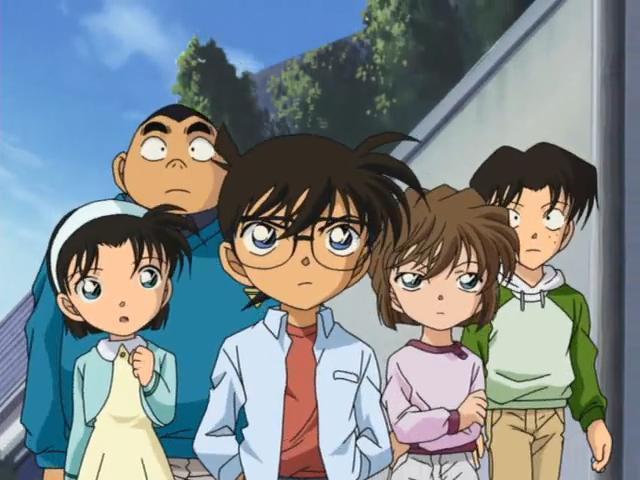 Nhiều lần bộ ba Ayumi – Genta – Mitsuhiko đã khiến Conan và Haibara gặp rắc rối