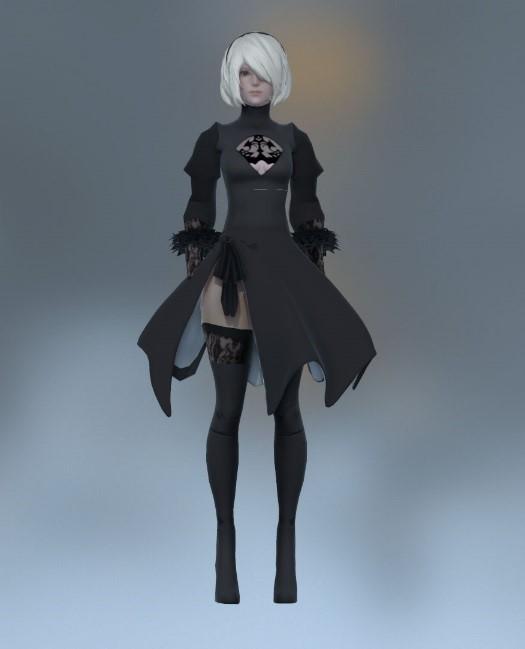 Hé lộ quá trình tạo ra 2B, nhân vật sexy bậc nhất thế giới game - Ảnh 4.