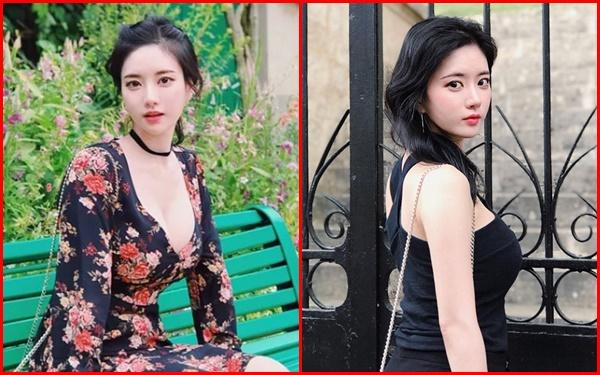 Loạt nữ sinh Hàn sở hữu vòng 1 trời ban, thu hút mọi ánh nhìn nơi công cộng - Ảnh 2.