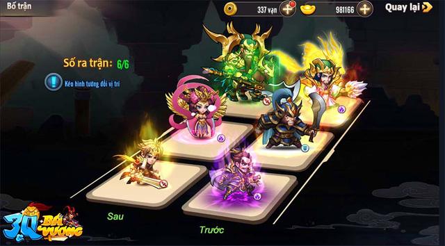 3Q Bá Vương chính thức ra mắt, khởi tranh giải đua Top tổng trị giá 500 triệu đồng, tượng vàng 999 - Ảnh 6.