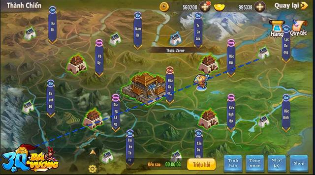 3Q Bá Vương chính thức ra mắt, khởi tranh giải đua Top tổng trị giá 500 triệu đồng, tượng vàng 999 - Ảnh 8.