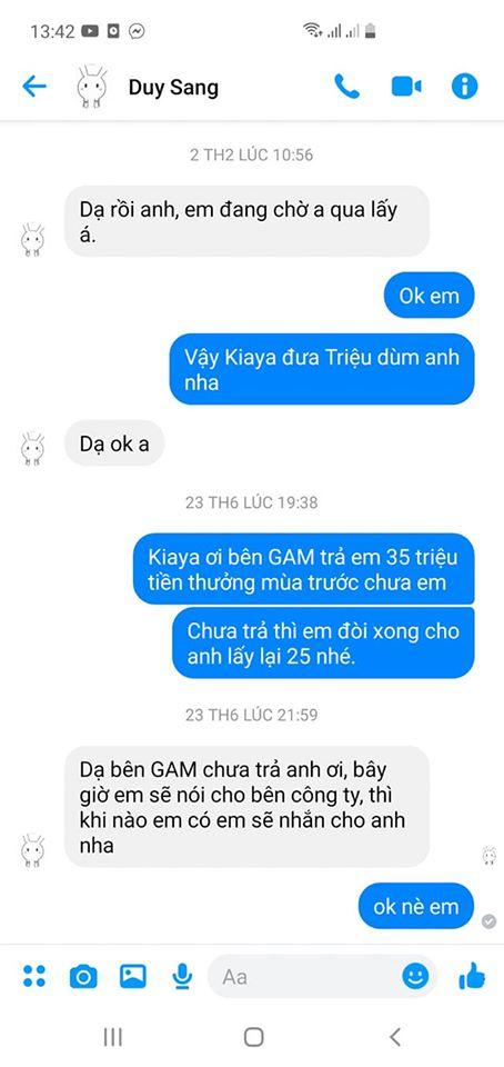 Cựu HLV Tinikun lại đăng đàn kể chuyện GAM Esports nợ tiền tuyển thủ, nhưng phản ứng của cộng đồng mới là điều đáng nói - Ảnh 2.
