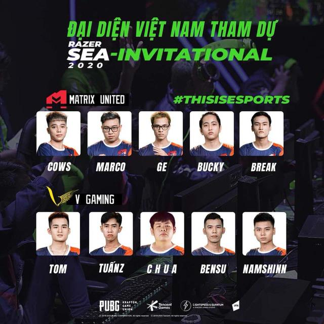 Bỏ xa các đối thủ Thái Lan, V Gaming & Matrix United nâng cao lá cờ Việt Nam vô địch giải đấu PUBG Mobile Sea-Invitational - Ảnh 1.