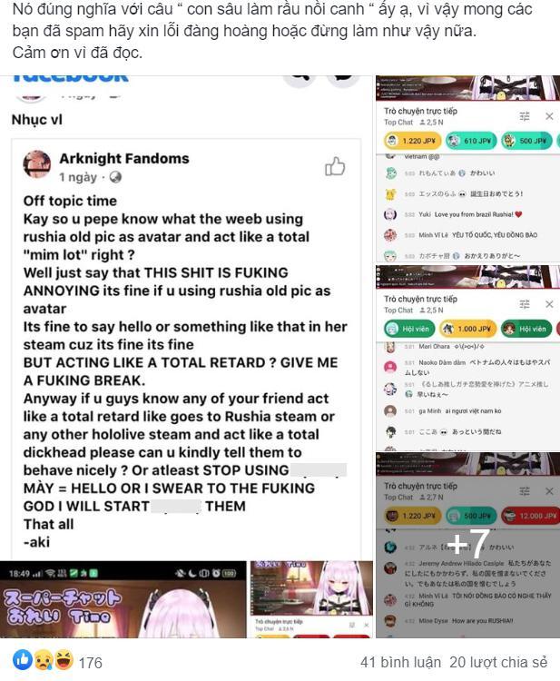 Hùa nhau spam rác trên kênh của Vtuber người Nhật, giới trẻ Việt bị nhận xét thiếu văn hóa, chỉ ngang Ấn Độ, đã lên trang nhất Reddit - Ảnh 3.
