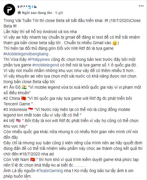 Rộ tin LMHT: Tốc Chiến closed beta trên iOS và Android ngay tháng 7 này, game thủ Việt như ngồi trên đống lửa - Ảnh 1.