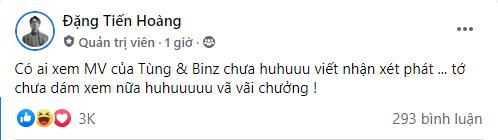 ViruSs hỏi ý kiến fan về MV mới của Sơn Tùng và Binz, thừa nhận vã lắm rồi nhưng chưa dám xem - Ảnh 3.