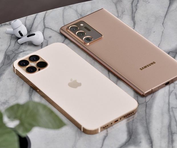 Lộ concept iPhone 12 và Samsung Galaxy Note 20 Ultra đẹp nhức nhối - Ảnh 2.