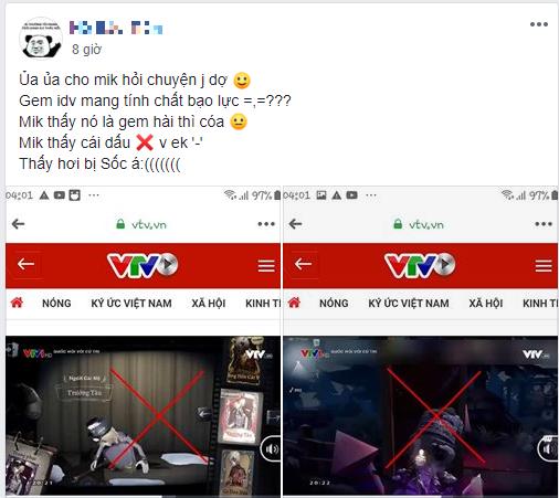 Cộng đồng Identity V dậy sóng, kêu oan vì tựa game của mình xuất hiện trên sóng truyền hình VTV - Ảnh 3.