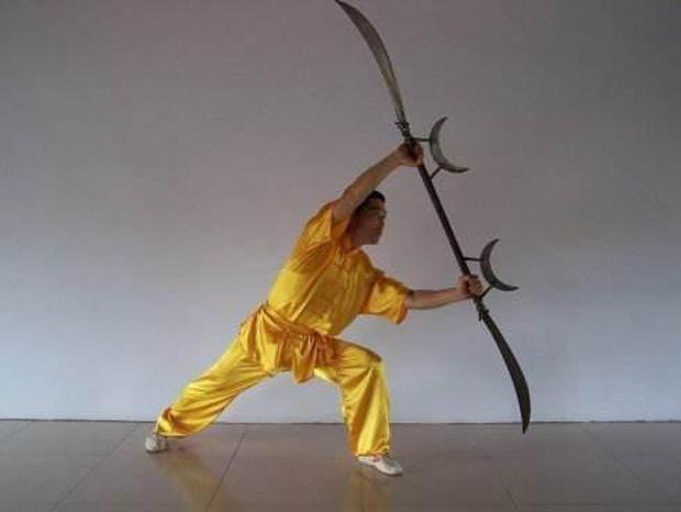 4 loại binh khí quái dị nhất từng được người Trung Hoa sử dụng, bút giá xoa là ác mộng của samurai Nhật Bản - Ảnh 3.