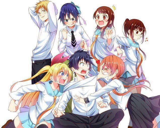 Top 5 bộ anime có dàn harem xinh đẹp nhất, càng xem lại càng thích? - Ảnh 2.