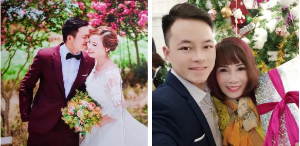 Ôm hôn tình cảm quá đà trên livestream, cô dâu 63 tuổi và chồng trẻ bị cư dân mạng chỉ trích - Ảnh 1.