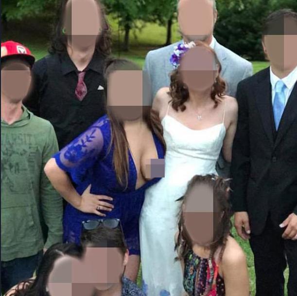 Ngắm loạt phù dâu ngực khủng khiến váy như muốn bung ra, dân tình thì dán mắt vào mình - Ảnh 7.