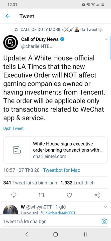 """Khổ như game thủ Việt, bị Garena cấm cửa, Tencent làm khó xong còn bị Tổng thống Trump """"dọa xanh mật"""" - Ảnh 5."""