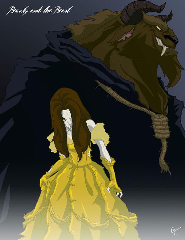 Không còn ngây thơ xinh đẹp, các nàng công chúa Disney hóa ác nhân trong loạt ảnh fanart kinh dị đầy ám ảnh - Ảnh 4.