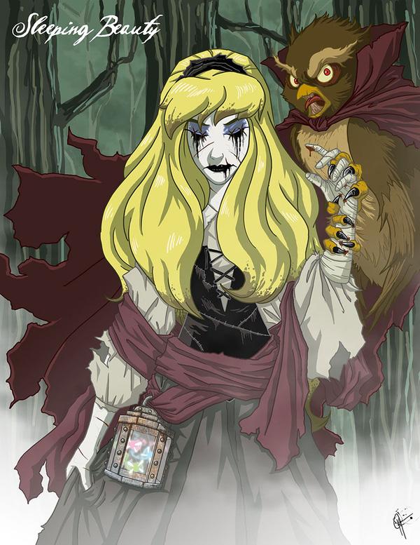Không còn ngây thơ xinh đẹp, các nàng công chúa Disney hóa ác nhân trong loạt ảnh fanart kinh dị đầy ám ảnh - Ảnh 7.