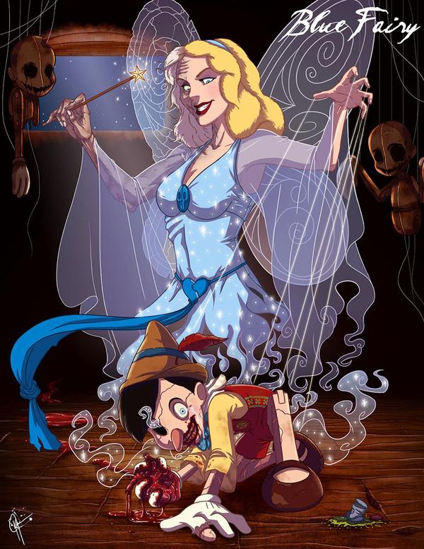 Không còn ngây thơ xinh đẹp, các nàng công chúa Disney hóa ác nhân trong loạt ảnh fanart kinh dị đầy ám ảnh - Ảnh 8.