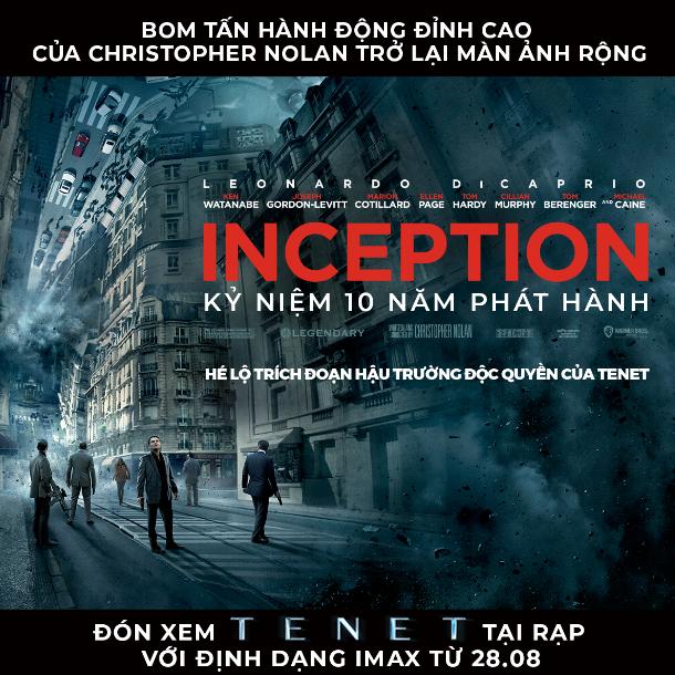 INCEPTION - Bom tấn hành động của Christopher Nolan trở lại màn ảnh rộng, không quên nhá hàng TENET - Ảnh 1.