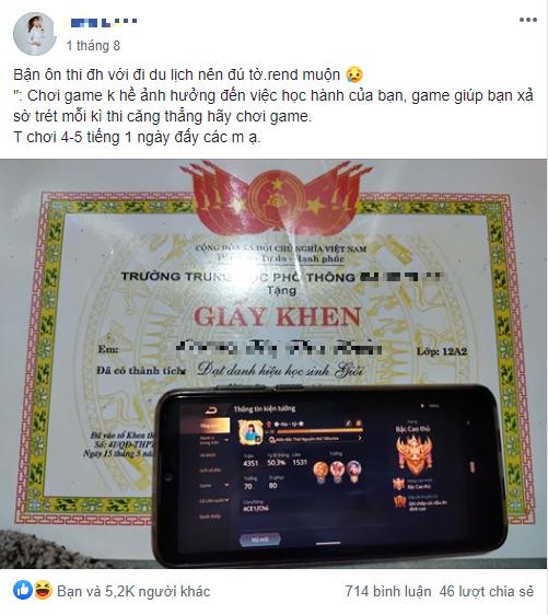 Nữ sinh ôn thi đại học khoe vừa chơi game 5 tiếng một ngày vừa học vẫn có thành tích đáng nể - Ảnh 2.
