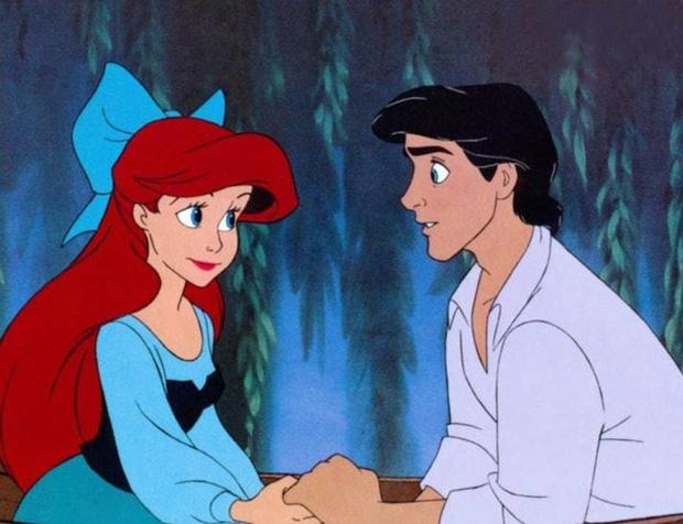 Nàng tiên cá Ariel bản truyện chẳng hề hạnh phúc cùng hoàng tử trong mộng. (Nguồn: Disney)