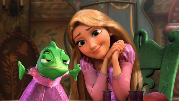 """Rapunzel """"nguyên bản"""" chỉ là con của nông dân nghèo. (Nguồn: Disney)"""