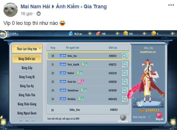 Đã tặng 5 GiftCode xịn, cày được KNB tại còn tích tiêu lên VIP, dân cày trong Ảnh Kiếm 3D sướng đến thế là cùng! - Ảnh 11.