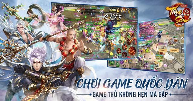 Làng game Việt sắp đón bão siêu phẩm, bom tấn lớp tiền bối Thục Sơn Kỳ Hiệp Mobile vẫn tự tin với chất game không thể thay thế - Ảnh 1.
