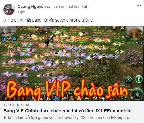 Hàng trăm Bang Hội được thành lập trong Jx1 Efunvn Mobile - Ký ức Võ Lâm Truyền Kỳ chưa bao giờ sống động đến thế - Ảnh 2.