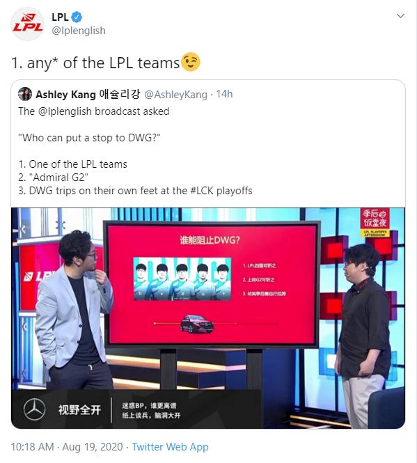 Chưa tới CKTG, phía LPL đã gáy khét - Team Trung Quốc nào cũng thắng được đội mạnh nhất LCK - Ảnh 3.