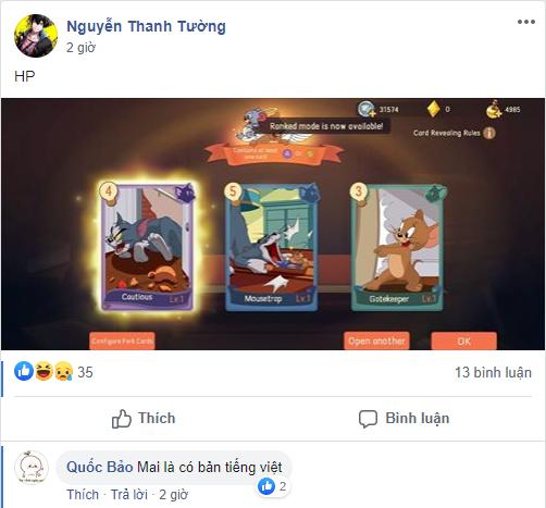 """Game thủ Việt đang """"phát cuồng"""" vì Tom and Jerry, game sinh tồn siêu dị, bất chấp bị cho ra rìa - Ảnh 3."""