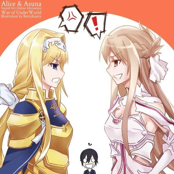 Sword Art Online: Mặc kệ Eugeo được buff cực mạnh, các fan lại thấy bủn rủn với cảnh Kirito hôn Asuna - Ảnh 1.