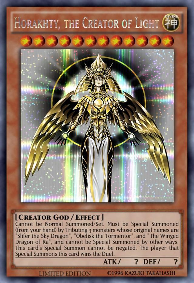Tìm hiểu về những lá bài thần thánh được biết đến trong Yu-Gi-Oh - Ảnh 2.