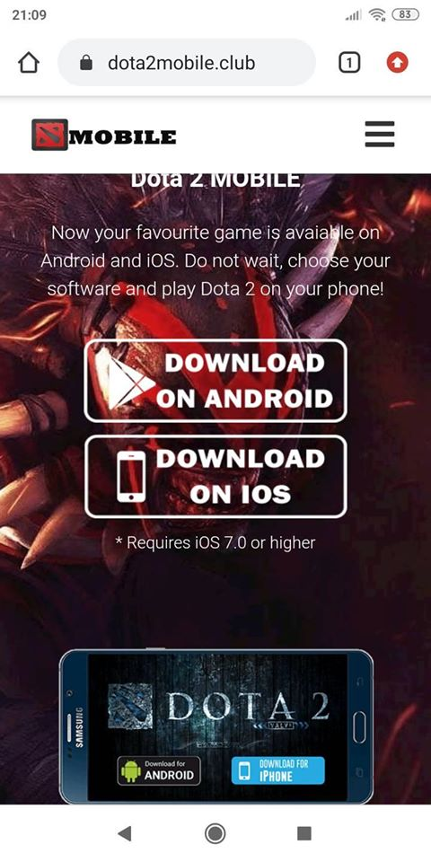 """Tìm được link tải Dota 2 Mobile, game thủ Việt suýt gặp hạn, may mà có """"đồng đội"""" kịp thời can ngăn - Ảnh 1."""