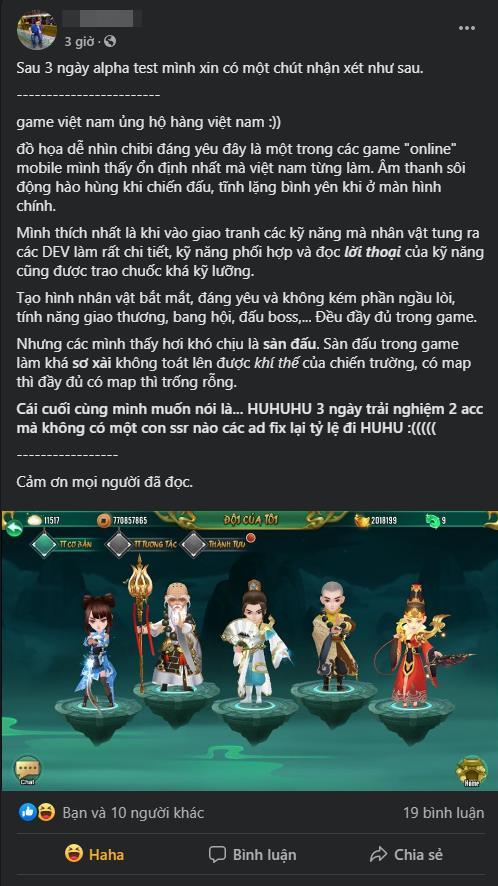 Cộng đồng game thủ Việt chung tay giúp Đại Hiệp Khách tối ưu game hậu Alpha Test, sẵn sàng giành lại thị phần từ game Trung Quốc - Ảnh 9.